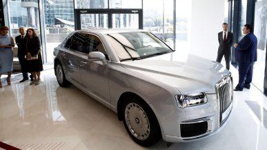 Aurus Senat оказался дороже Mercedes-Maybach S650
