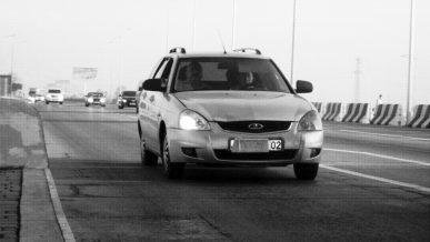 Чтобы не платить за проезд по платным дорогам, водители прячут госномера