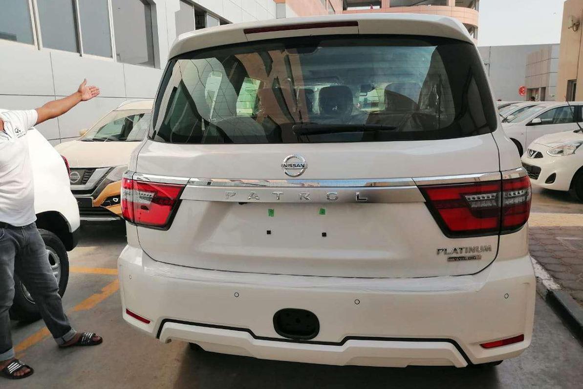Обновлённый Nissan Patrol уже в Дубае
