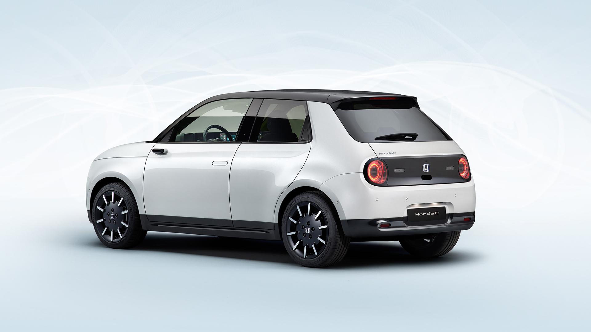 Honda показала серийный электромобиль E