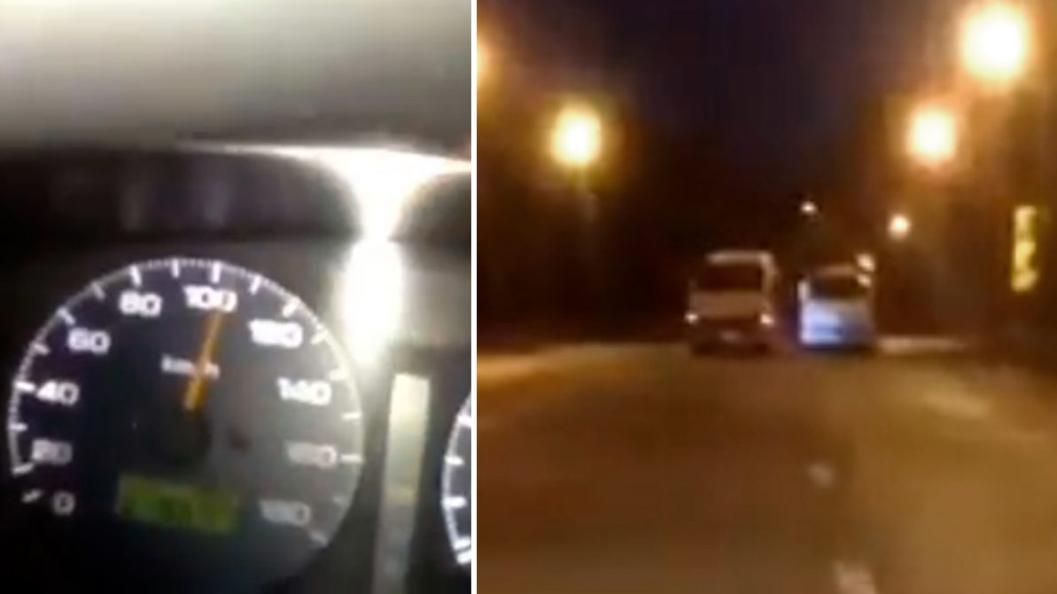 Гонки на автобусах. Полиция ищет нарушителей