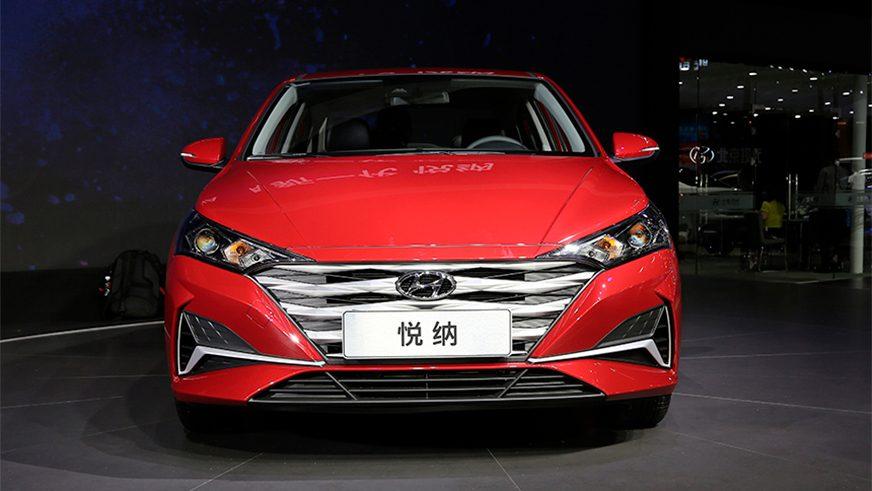 Так будет выглядеть обновлённый Hyundai Accent