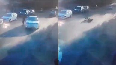 Мошенники бросаются под колёса в Алматы