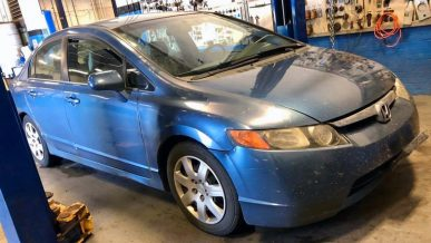 Honda Civic пробежал 1.6 млн километров на родном моторе