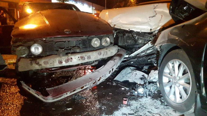 Семеро пострадали в массовом ДТП в Алматы