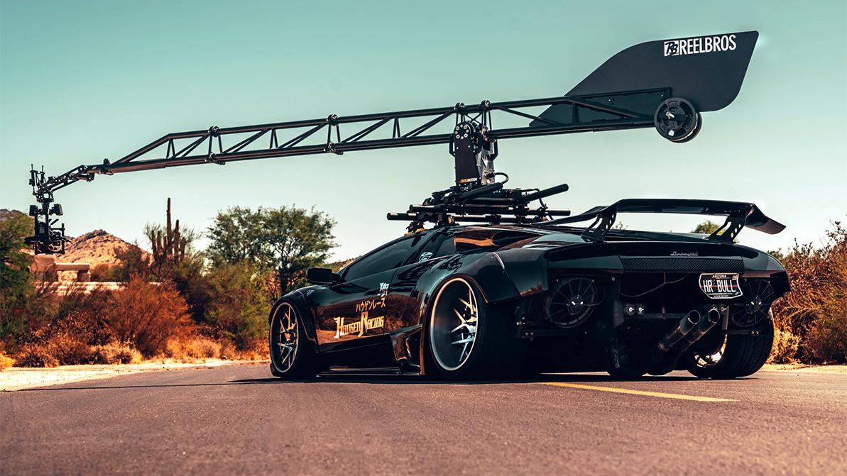 Резвый оператор Lamborghini Murcielago