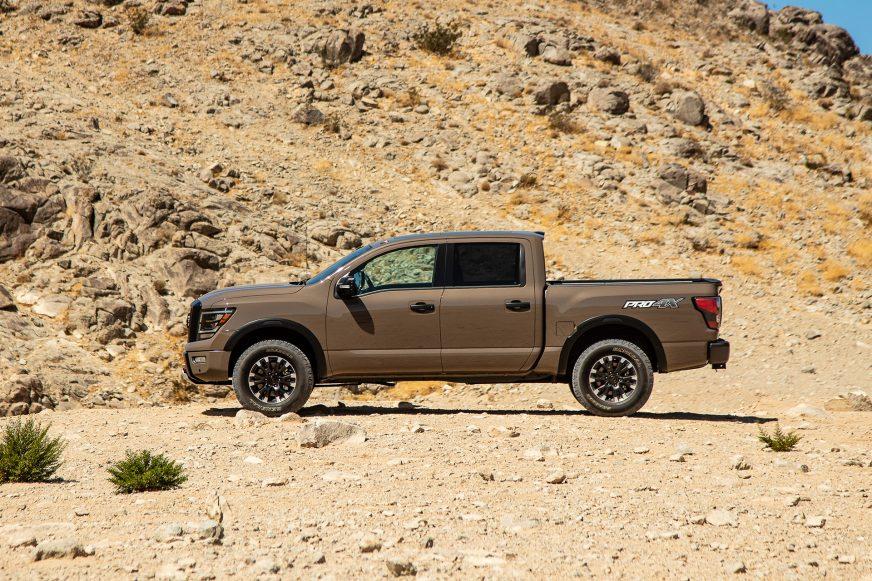 Nissan обновил пикап Titan