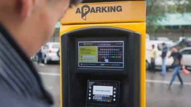 Два новых участка платной парковки заработали в центре Алматы