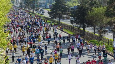 13 октября по дорогам Алматы будут бегать