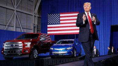 Трамп поручил удешевить автомобили