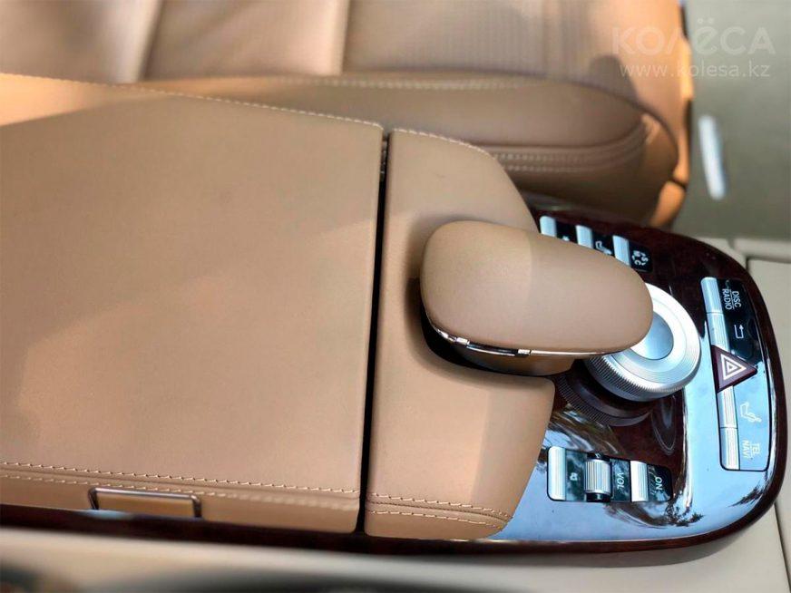 20 млн просят за практически новый Mercedes-Benz S-Class (W221)