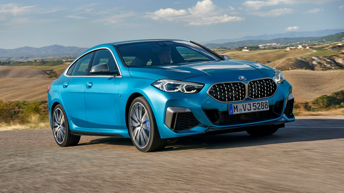 Ещё один переднеприводный седан от BMW