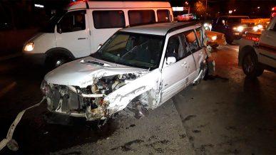 Lada подрезала Subaru. Один человек погиб