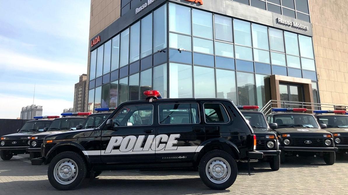 Lada 4x4 будет служить в монгольской полиции