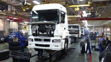 КАМАЗы делают в том числе из автохлама, переработанного в Казахстане