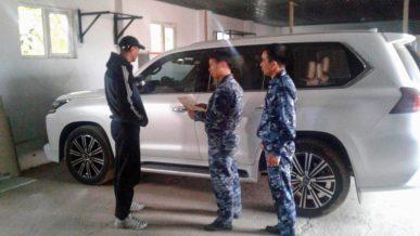 На границе с Узбекистаном задержали Lexus LX 570 с поддельными документами