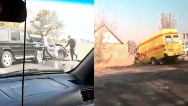 Скорая помощь попала в ДТП близ Алматы