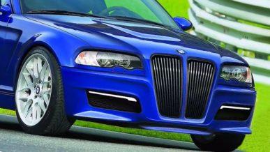 Дизайнер нарисовал E46 в стиле BMW Concept 4