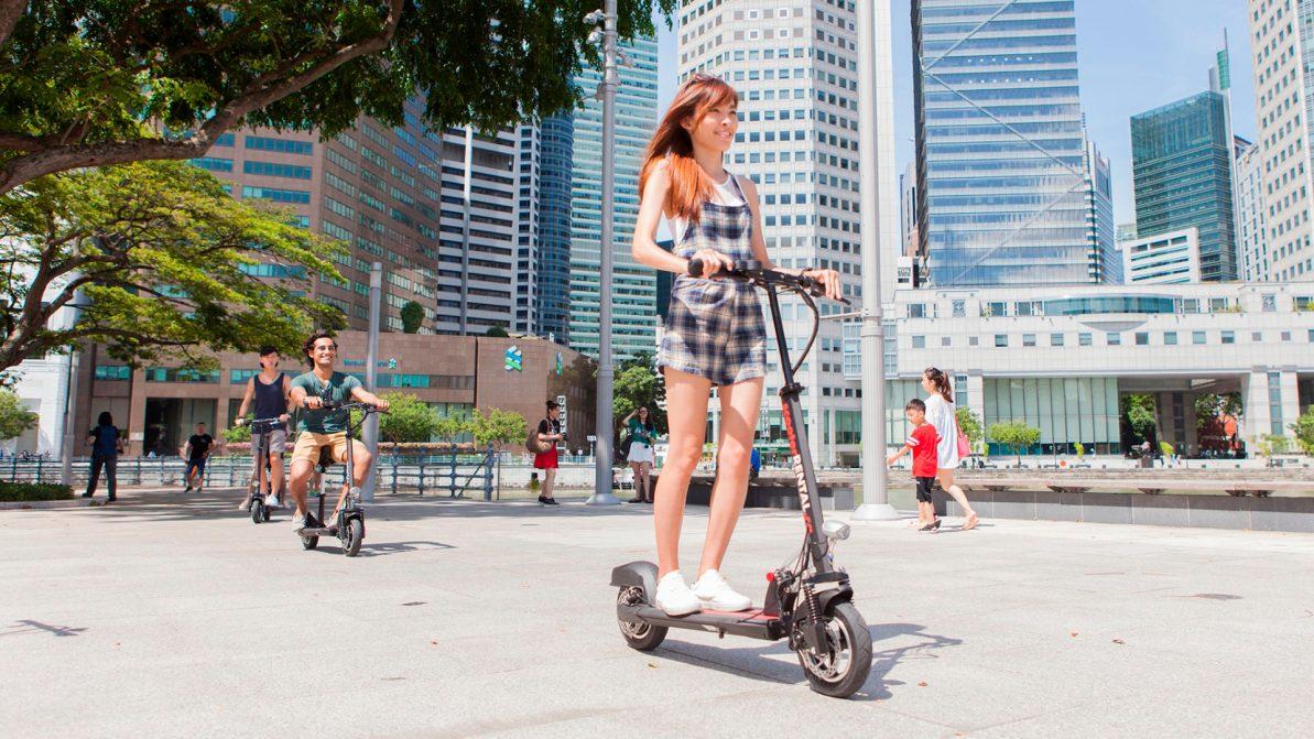 На электросамокатах только по велодорожкам