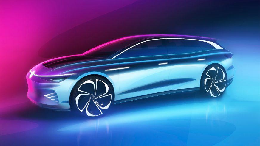 Volkswagen дразнит электрическим универсалом