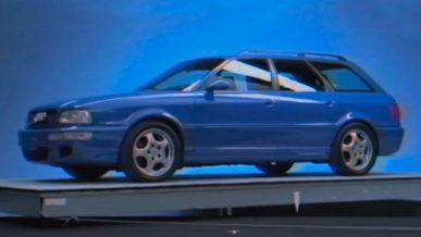 Audi показала рекламу RS2 1994 года, которую никто не видел