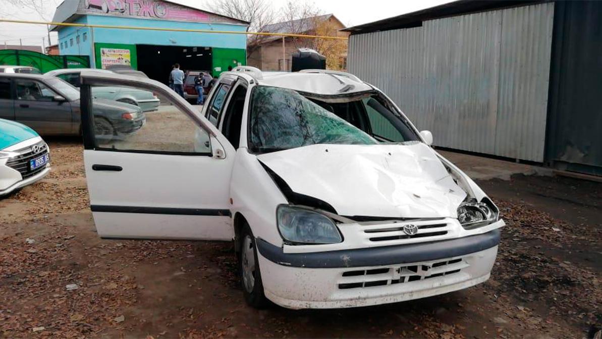 Двое пешеходов погибли под колёсами Toyota Raum
