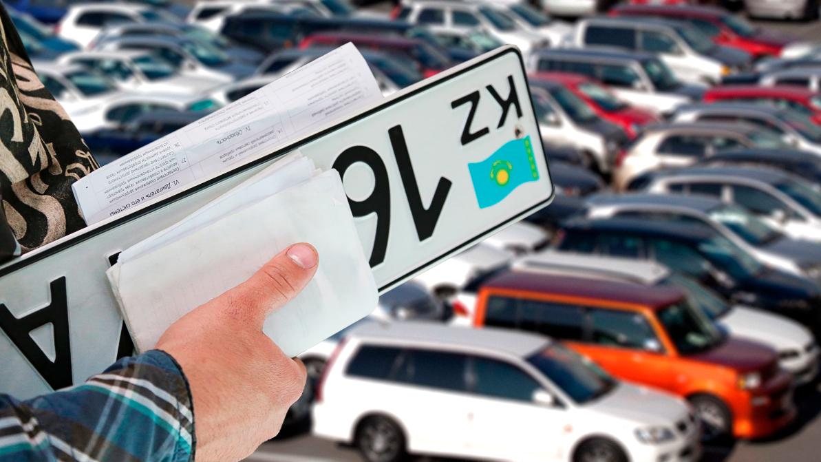 335 авто зарегистрировали незаконно полицейские в Южном Казахстане