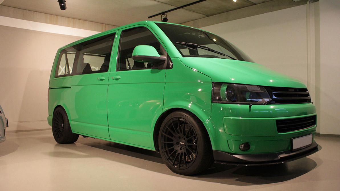 Быстрый Volkswagen T5 оценили в 171 тысячу долларов