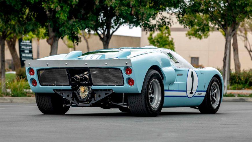 Ford GT40 из фильма «Ford против Ferrari» выставят на продажу