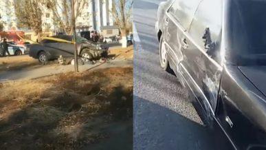 Camry врезалась в остановку в Кызылорде: трое погибли