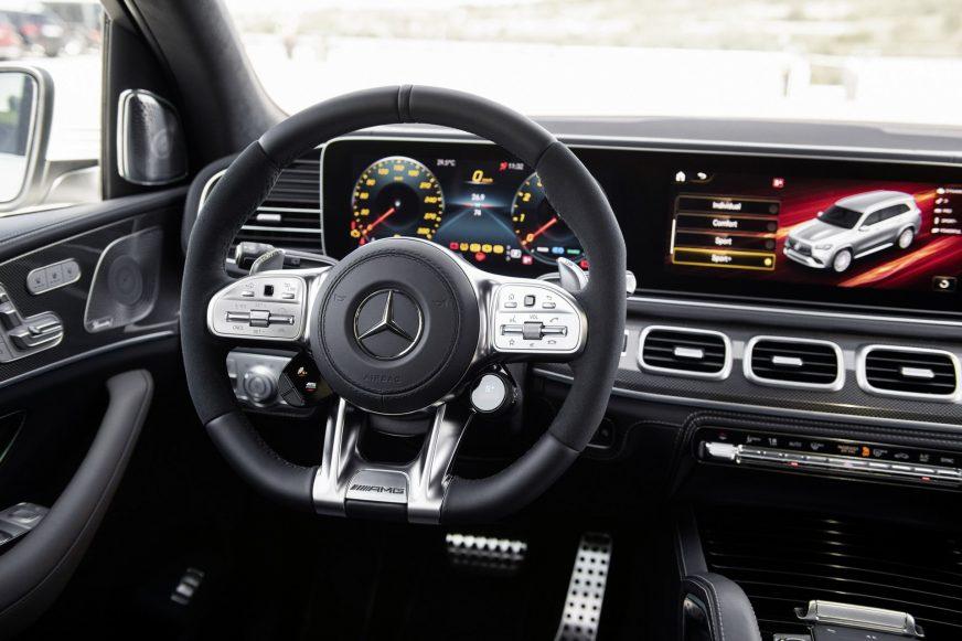 Mercedes-Benz GLS получил 612-сильную версию от AMG