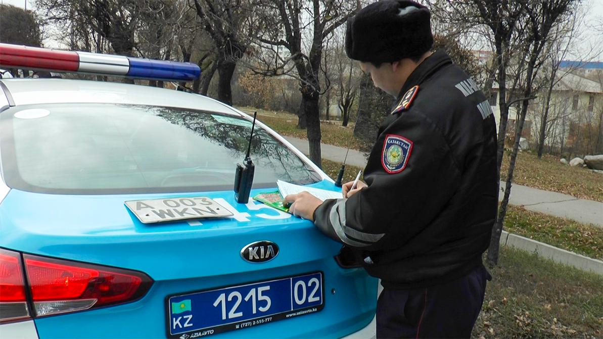 Семь авто с поддельными номерами задержаны за сутки в Алматы