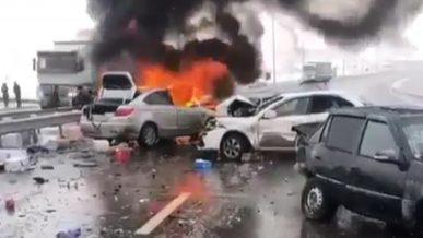 Авария в Туркестанской области