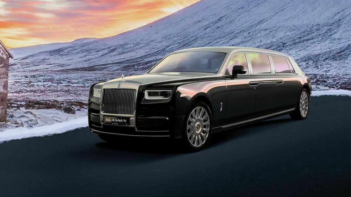 Бронированный Rolls-Royce Phantom за 3 миллиона евро