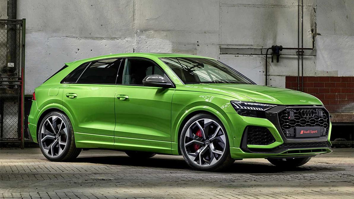 В Audi считают, что колёса свыше 23 дюймов уже чересчур