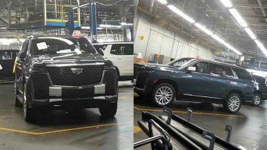 Первые фото нового Cadillac Escalade