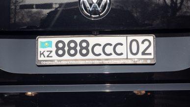 Более 400 водителей задержаны в Алматы с левыми номерами с начала года