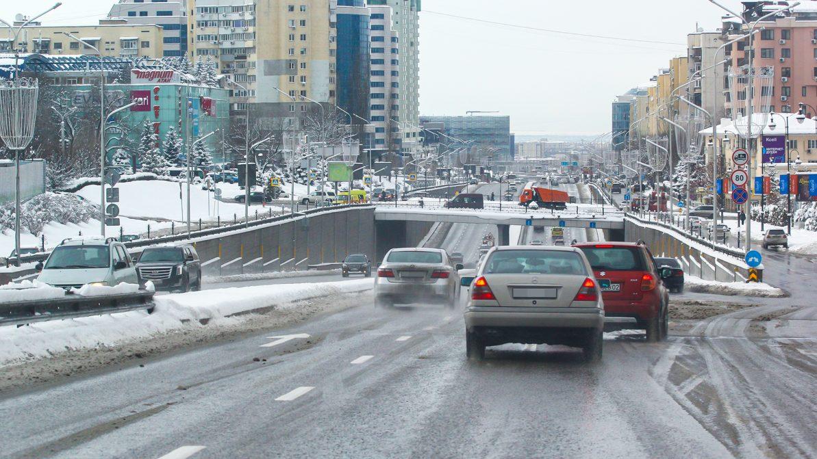 Где в Алматы было опасно ездить в 2019 году