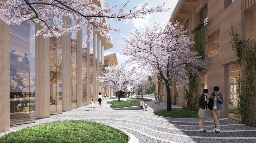 Toyota построит собственный город будущего