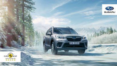 Subaru – самые безопасные автомобили в своем классе