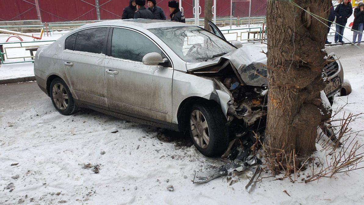 Водитель умер от сердечного приступа, при этом сбил пешехода