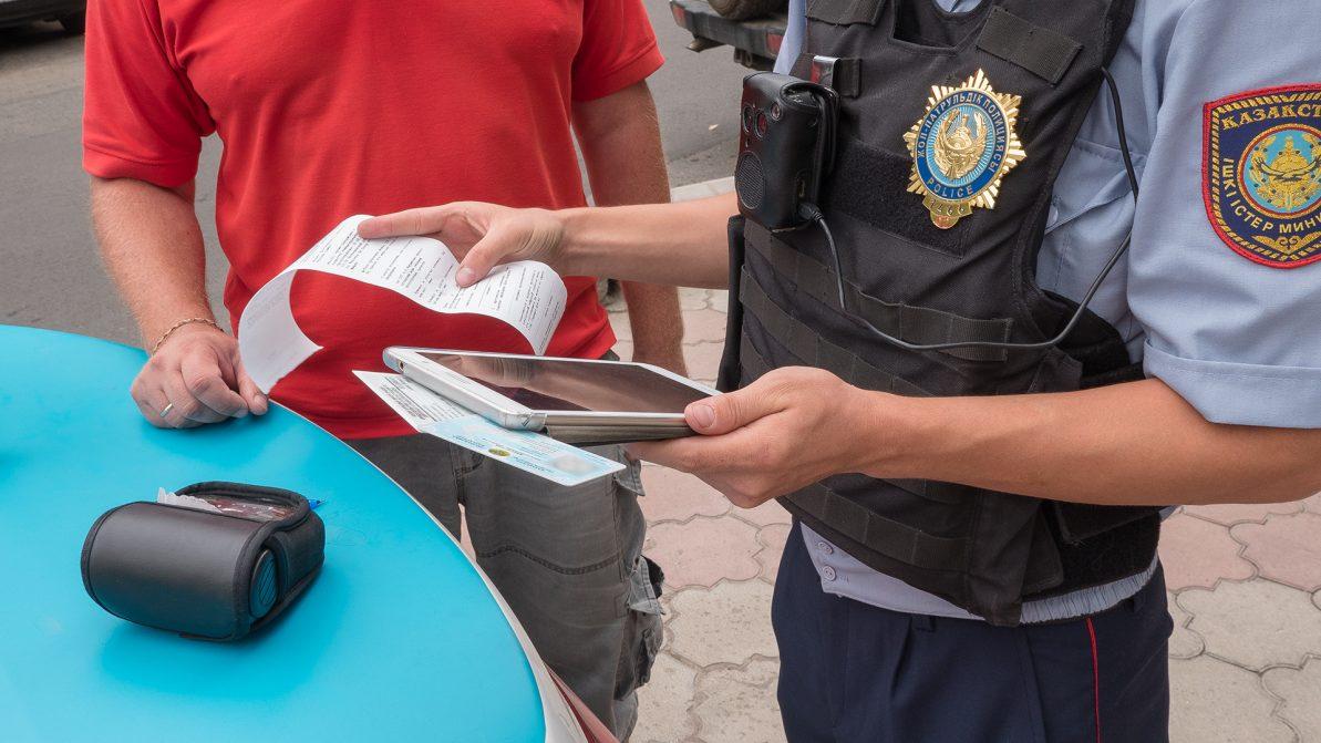 Лимит нарушений ПДД предлагают ввести в Казахстане