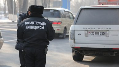МВД РК: облав на автомобили с иностранными номерами не будет