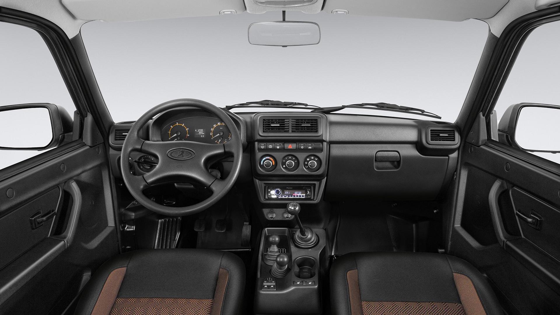 Обновлённая Lada 4x4 подорожала