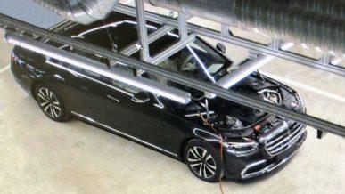 Mercedes-Benz S-Class W223 без камуфляжа