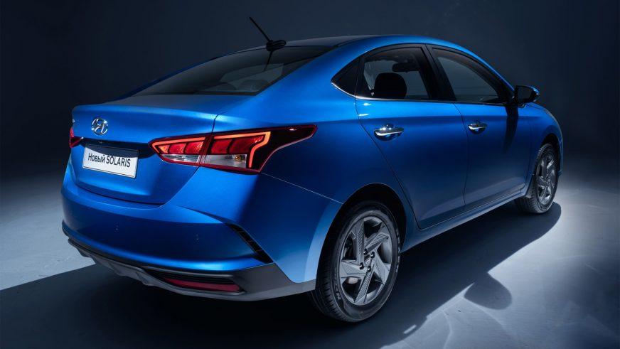 Официальные фото обновлённого Hyundai Accent