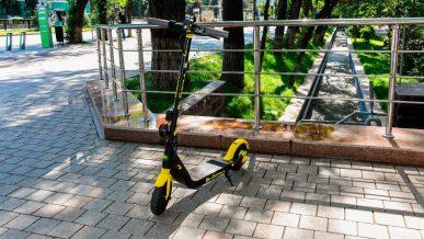 Арендовать электросамокат в Алматы можно будет уже весной