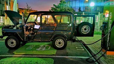 UAZ Hunter стал электромобилем