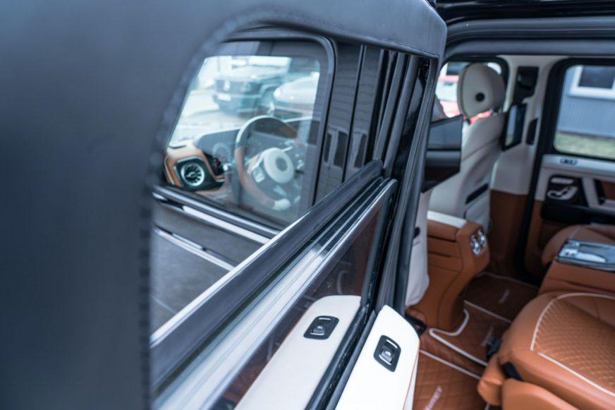 Бронированный Mercedes-AMG G63 от Mansory