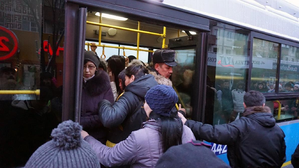 Общественный транспорт будут дезинфицировать